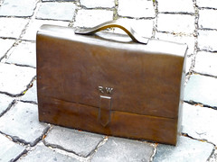 furniture(0.0), chest(0.0), trunk(0.0), bag(1.0), leather(1.0), baggage(1.0),