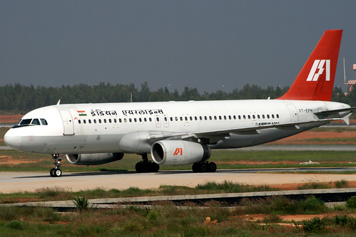 Indian Airlines A320 VT-EPH