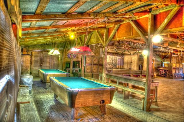 Gruene Hall Pool tables   Flickr - Photo Sharing!