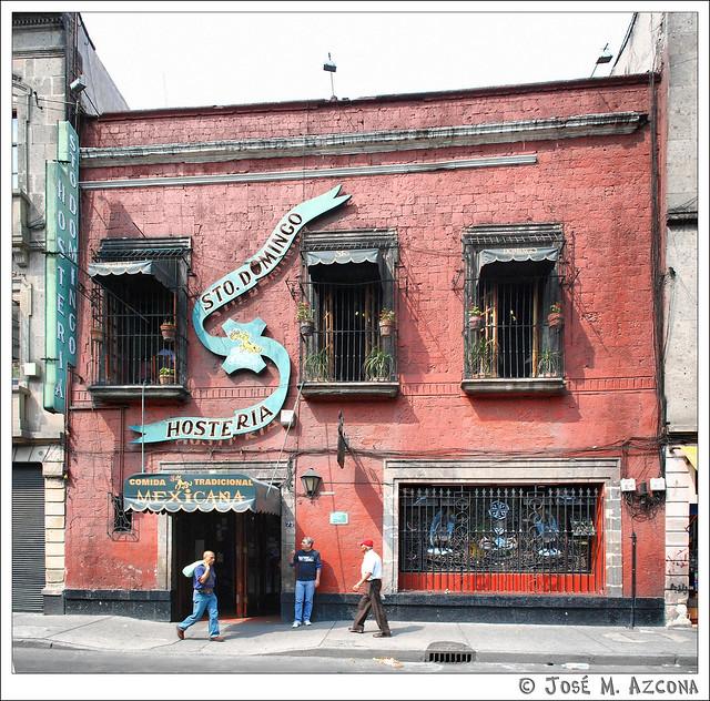 México DF. Hostería de Santo Domingo.