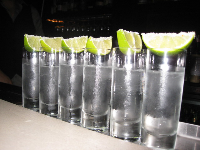 Tequila shots for all of us...