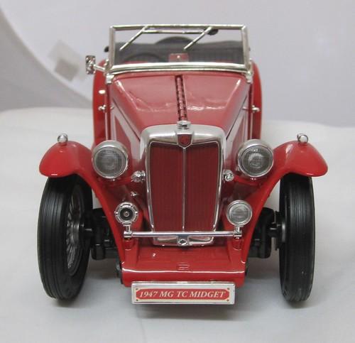 1947 MG TC Midget Sports Car front