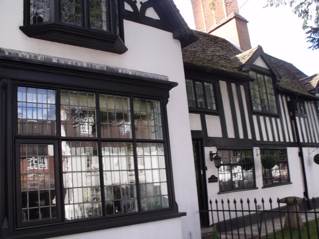 Yew Tree House, High Street, Henley-in-Arden - old windows ...