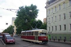 Moscow tram Tatra T2 378  _20090613_054 Tatra T2