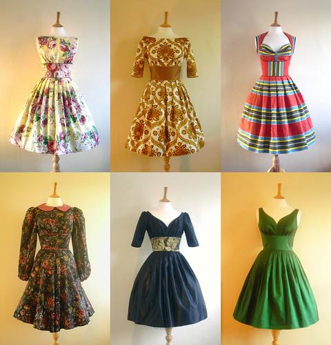 Swing Dresses Vintage Dresses Swing Fashion On Pinterest Swing Dress Bernie Dexter And