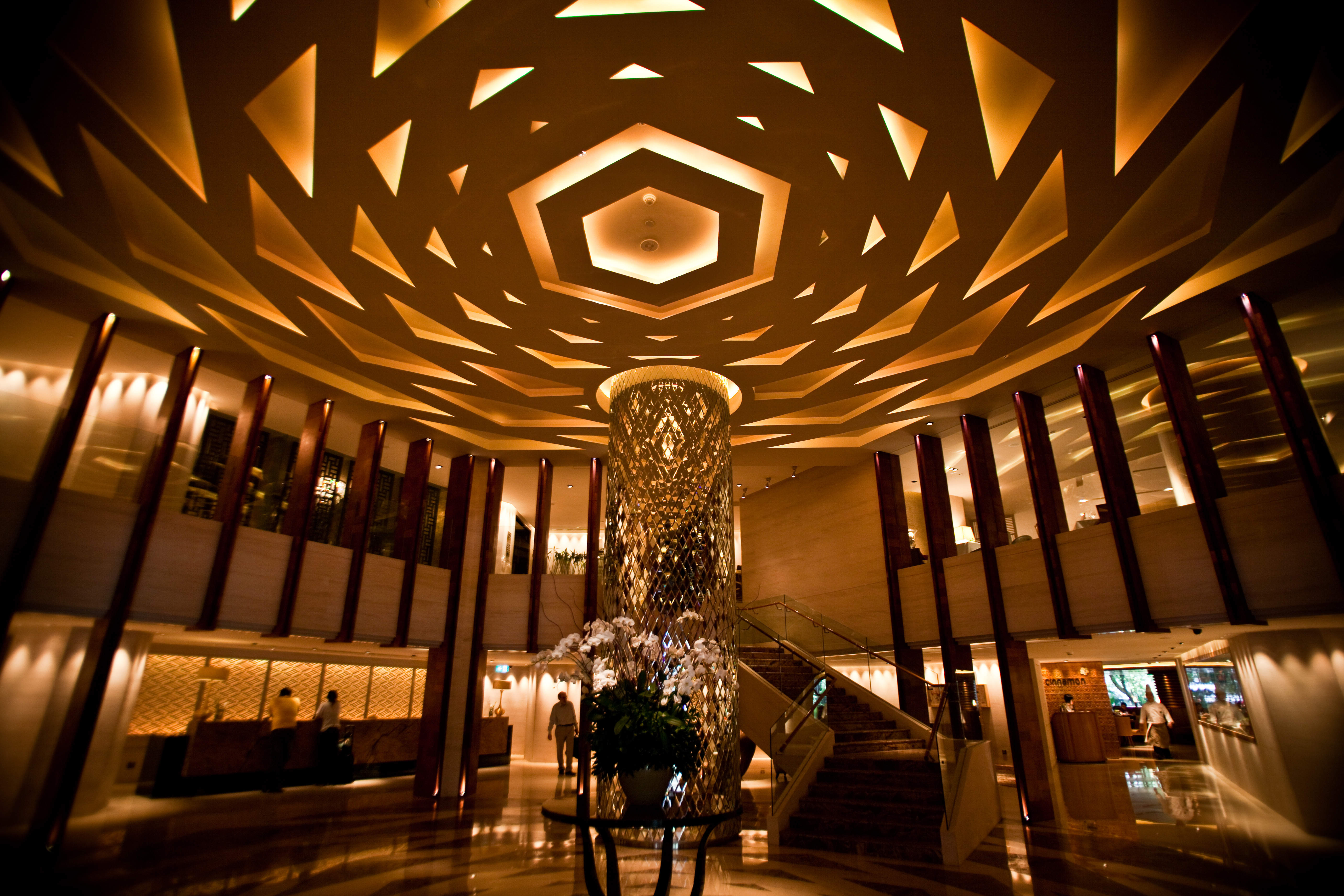 Modern hotel lobby flickr photo sharing for Modern hotel