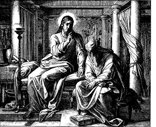 Jesus and Nicodemus