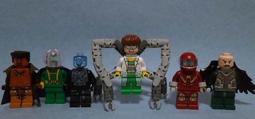 Lego Marvel Figures 1 The Sinister Six What Is This