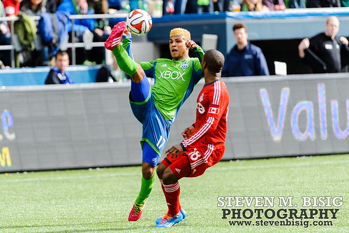 MLS: Toronto FC at Seattle Sounders