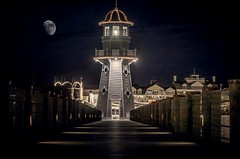 Nighttime at the lighthouse!