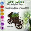 Earthworx Spanish Daisys Planter Ad