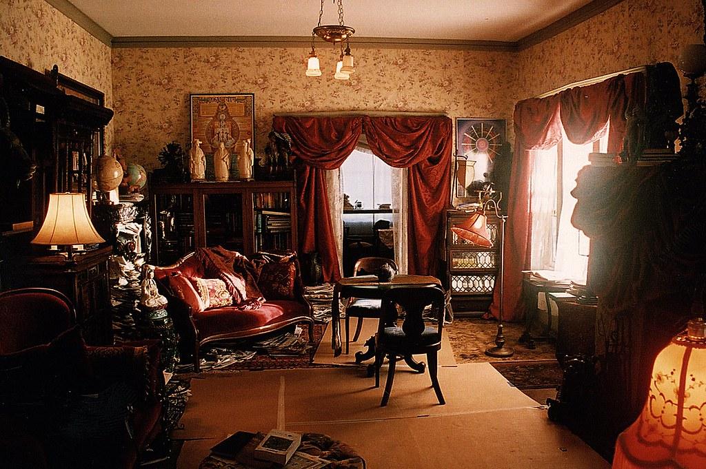Psychic Eclectic Victorian Living Room Set Decorator Rick