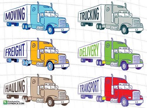 Semi Truck Drawings Semi Trucks Illustrations of