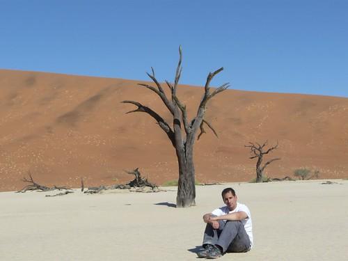 En el Desierto del Namib (Namibia)