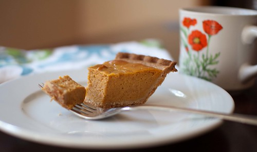 pumpkin pie for breakfast