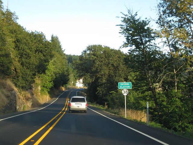 Oregon highway 38