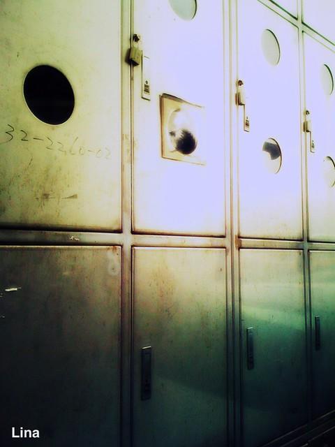 Header of steel box