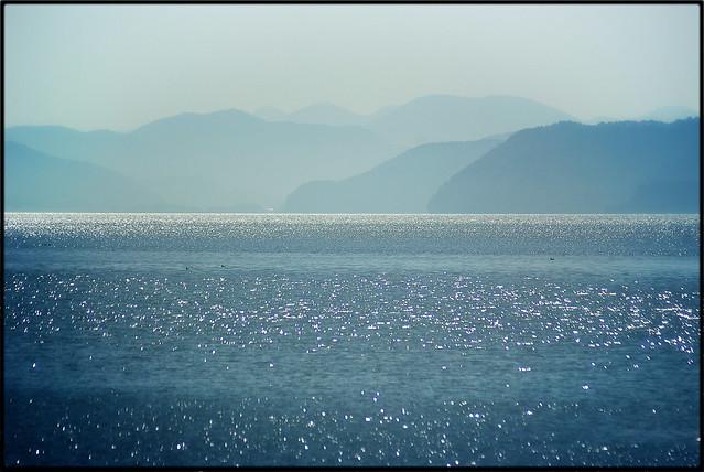 猪苗代湖 Inawashiro Lake