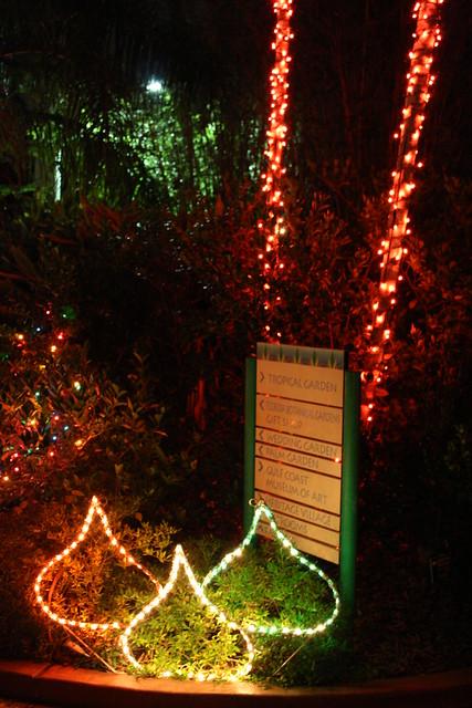 Christmas Lights Florida Botanical Gardens 2009 Christma Flickr Photo Sharing