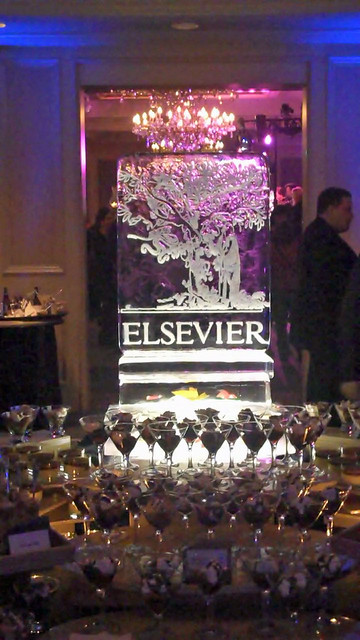 Elsevier Ice Sculpture