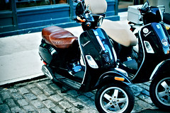 automobile, scooter, vehicle, automotive design, vespa,
