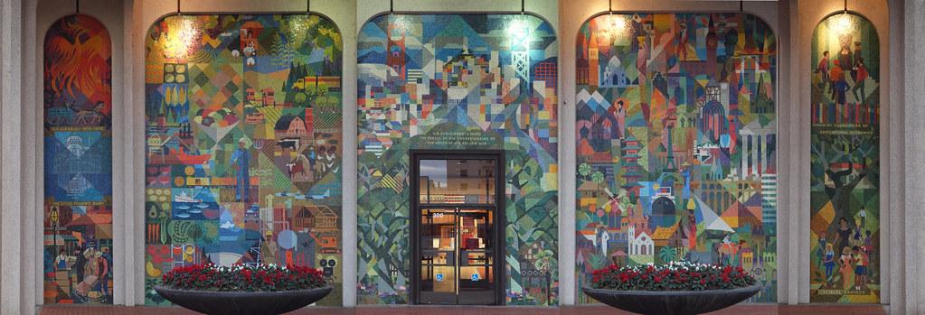 BofA Mosaic in San Mateo