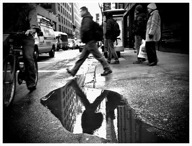 Henri et moi  Henry and me Henri Cartier Bresson Puddle