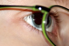 iris, glasses, vision care, skin, macro photography, eyelash, green, close-up, eyebrow, eye, organ,