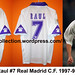 Raul #7 Real Madrid 1997 1998