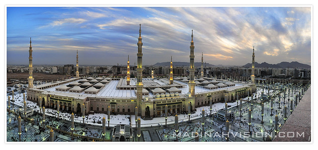 A Panoramic View Of The The Holy Prophet 39 S Mosque Flickr Photo Sharing