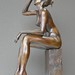 JF Van Den Bogaert/Bouillante/Bronze 38cm