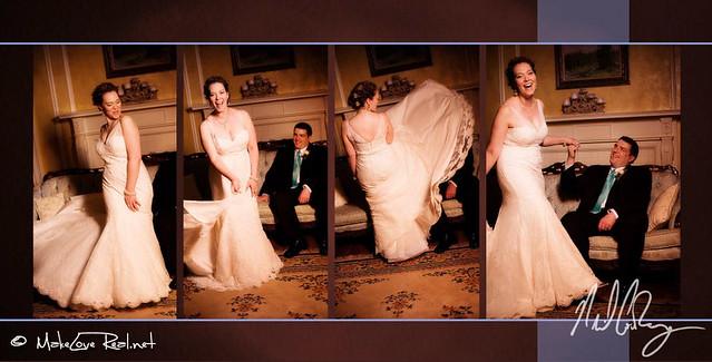 Charlotte North Carolina Artistic Wedding Album Design