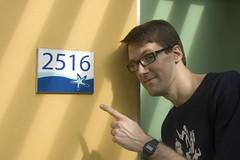 Aaron at Room 2516