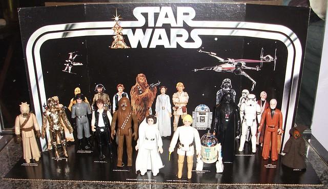 Original Star Wars Toys : All original vintage star wars figures picked up