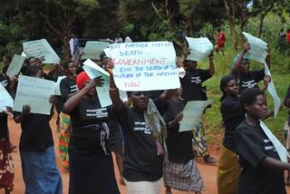 Pregnant women protest KC Sharifah Nabukenya