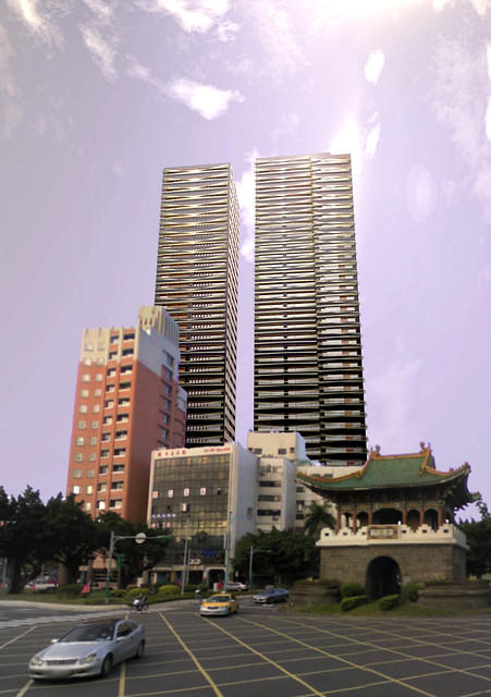 Twin Towers in Taipei