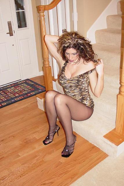 Picssr: pantyhose babe's Flickr photos