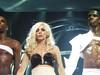 Lady Gaga taking a bow - Toronto MONSTER BALL 11/28/09 Lady Gaga, performing