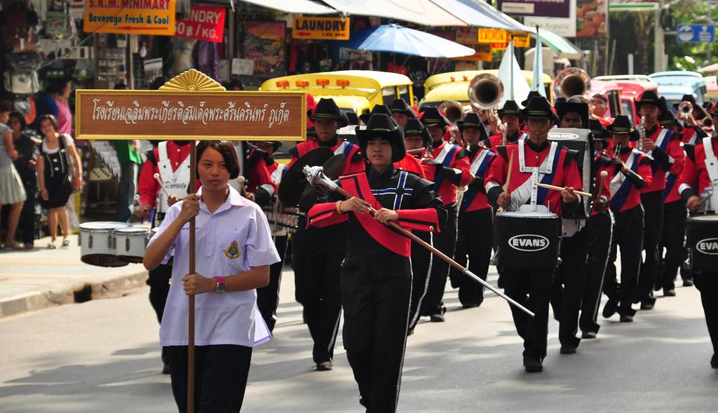Parade on King's birthday