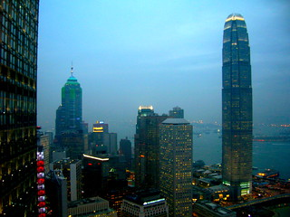 Hong Kong from the Bank of China Tower