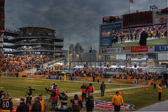 Heinz Field, Steelers vs Packers