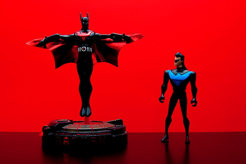 Batman Beyond vs. Nightwing (6/365)