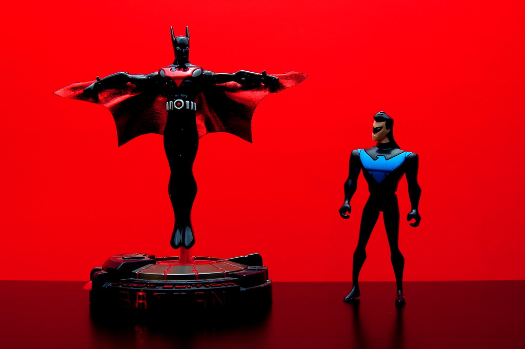 Batman Beyond vs. Nightwing (6/365) | Flickr - Photo Sharing!