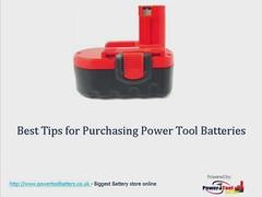 Power Tool Battery Gadget Video