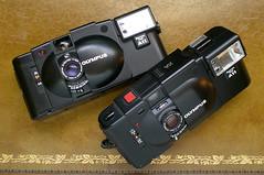 Olympus XA (1979) and XA2 (1980)