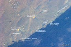 Pyramids! as seen from the ISS