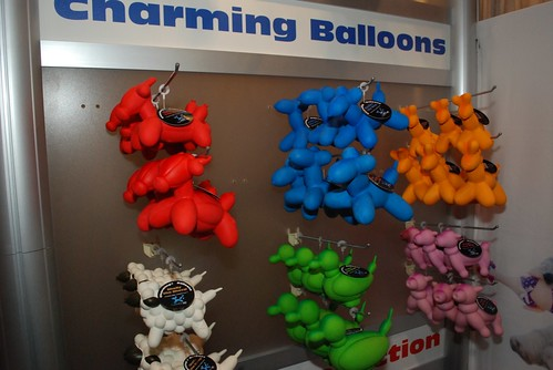 Charming Pet Products Booth