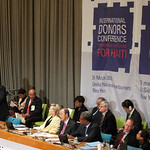 IMF Managing Director at UN International Donors Conference