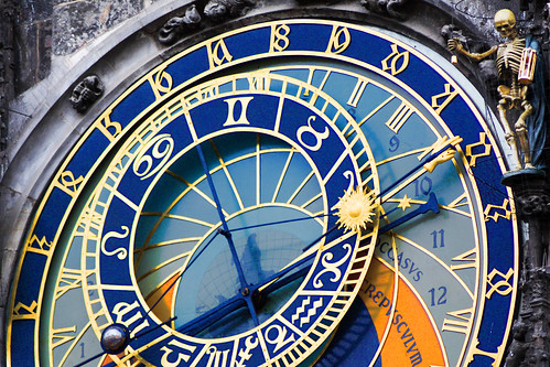Astronomical Clock and Death, Prague (With Explanations)