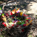 "Land Art by 2nd Graders, ""Spring Nest""; YES Fundraiser Project"